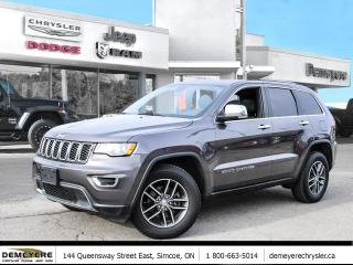 Used 2017 Jeep Grand Cherokee LIMITED | LEATHER | SUNROOF for sale in Simcoe, ON