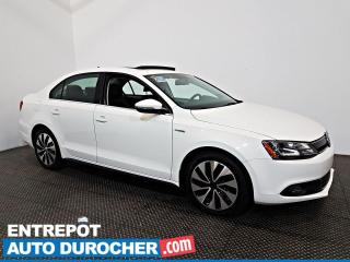 Used 2013 Volkswagen Jetta Berline HIGHLINE HYBRIDE NAV - Toit Ouvrant - A/C - Cuir for sale in Laval, QC