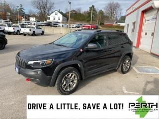 Used 2020 Jeep Cherokee Trailhawk for sale in Mitchell, ON