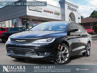Used 2015 Chrysler 200 S for sale in Niagara Falls, ON
