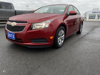 Used 2012 Chevrolet Cruze 4dr Sdn LT Turbo w-1SA for sale in Kingston, ON