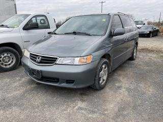 Used 2002 Honda Odyssey for sale in Kingston, ON