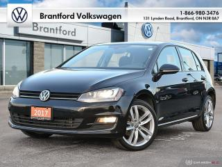 Used 2017 Volkswagen Golf 5-Dr 1.8T Highline 6sp at w/Tip for sale in Brantford, ON