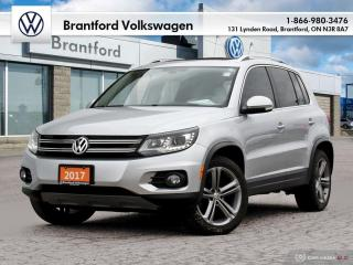 Used 2017 Volkswagen Tiguan Highline 2.0T 6sp at w/ Tip 4M for sale in Brantford, ON