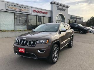 Used 2020 Jeep Grand Cherokee Limited 4x4 V6 w/Leather, Sunroof, Navi, Premium W for sale in Hamilton, ON