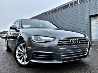Used 2017 Audi A4 |HEATED SEATS|REAR VIEW|SUNROOF|APPLE CARPLAY|ALLOY! for sale in Brampton, ON