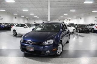 Used 2011 Volkswagen Golf Wagon TDI I NAVIGATION I LEATHER I PANOROOF I HEATED SEATS I AS IS for sale in Mississauga, ON