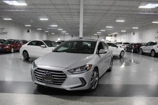 Used 2017 Hyundai Elantra NO ACCIDENTS I SUNROOF I REAR CAM I CARPLAY I HEATED SEATS for sale in Mississauga, ON