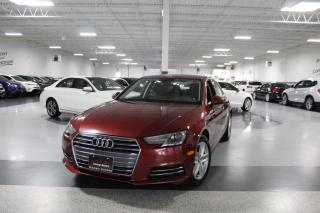 Used 2017 Audi A4 QUATTRO NO ACCIDENTS I SUNROOF I HEATED SEATS I PUSH START for sale in Mississauga, ON