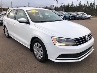 Used 2016 Volkswagen Jetta Trendline Plus   1.4TSI   Connectivity Package for sale in Charlottetown, PE