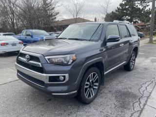 Used 2018 Toyota 4Runner 4WD LIMITED   LEATHER   SUNROOF   5 PASSENGER for sale in Toronto, ON