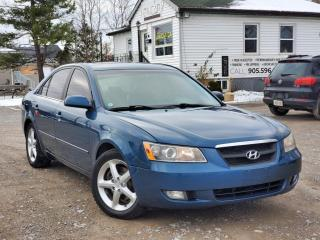 Used 2006 Hyundai Sonata 3.3L LX V6 Sunroof Leather Heated Mint Condition Certified for sale in Sutton, ON
