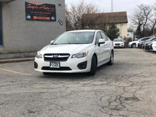 Used 2013 Subaru Impreza 4DR SDN CVT 2.0I for sale in Barrie, ON