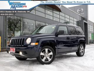 Used 2017 Jeep Patriot High Altitude  - Sunroof -  Bluetooth for sale in Toronto, ON