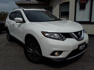 Used 2016 Nissan Rogue SL AWD - LEATHER! NAV! 360 CAM! BSM! PANO ROOF! for sale in Kitchener, ON