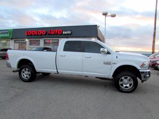 Used 2017 RAM 2500 Laramie Turbo Diesel Cummins Crew Cab 4WD Certified for sale in Milton, ON