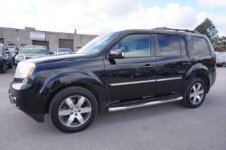 Used 2012 Honda Pilot TOURING 4WD NAVI DVD CAMERA CERTIFIED 2YR WARRANTY SUNROOF HEATED LEATHER for sale in Milton, ON