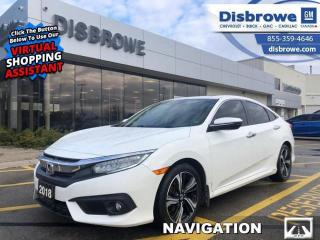 Used 2018 Honda Civic Sedan Touring for sale in St. Thomas, ON