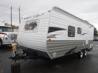 Used 2011 Forest River Grey Wolf T20RB Travel Trailer 20 foot for sale in Burnaby, BC