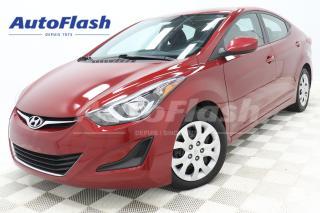 Used 2016 Hyundai Elantra GL* BLUETOOTH* CRUISE* EXTRA-CLEAN for sale in Saint-Hubert, QC