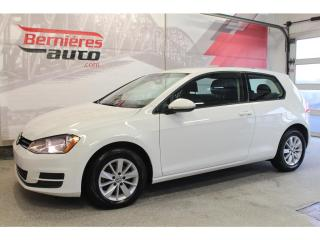 Used 2016 Volkswagen Golf Trendline 1.8 Tsi for sale in Lévis, QC