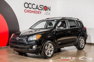 Used 2010 Toyota RAV4 SPORT V6 AWD+TOIT+MAGS+A/C+GR.ELECT for sale in Laval, QC