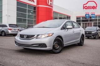 Used 2015 Honda Civic GARANTIE LALLIER 10ANS /200,000 KILOMETRES INCLUSE LE PLUS GRAND CHOIX DE CIVIC USAGEES AU QUEBEC for sale in Terrebonne, QC