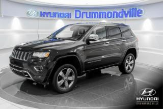 Used 2015 Jeep Grand Cherokee OVERLAND+GARANTIE+NAVI+TOIT PANO+WOW for sale in Drummondville, QC