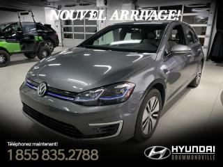 Used 2019 Volkswagen Golf e-Golf COMFORTLINE + GARANTIE + NAVI +  WOW !! for sale in Drummondville, QC