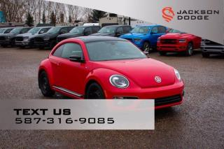 Used 2014 Volkswagen Beetle Coupe Sportline - R line, Sunroof, 2 sets rims and tires for sale in Medicine Hat, AB