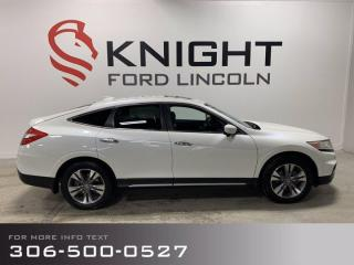 Used 2014 Honda Accord Crosstour EX-L for sale in Moose Jaw, SK