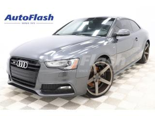 Used 2015 Audi S5 Techink S-Line 3.0L Supercharged *Bang-&-O for sale in St-Hubert, QC
