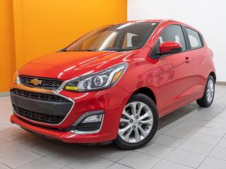 Used 2019 Chevrolet Spark LT CAMÉRA ÉCRAN TACTILE *ANDROID / APPLE CARPLAY* for sale in St-Jérôme, QC