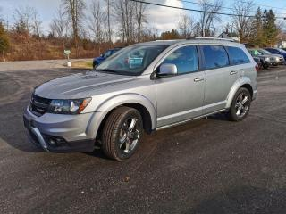 Used 2015 Dodge Journey Crossroad for sale in Madoc, ON