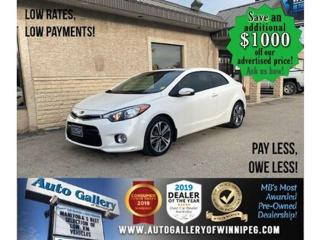 Used 2015 Kia Forte Koup EX* B.cam/B.tooth/Htd seats/Roof for sale in Winnipeg, MB