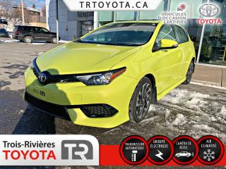 Used 2017 Toyota Corolla iM Hayon 4 portes CVT for sale in Trois-Rivières, QC