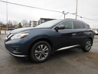 Used 2015 Nissan Murano SV AWD NAVIGATION TOIT PANORAMIQUE MAGS 18 for sale in St-Eustache, QC