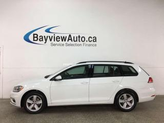 Used 2019 Volkswagen Golf Sportwagen COMFORTLINE - 4MOTION! AWD! REVERSE CAM! ALLOYS! for sale in Belleville, ON