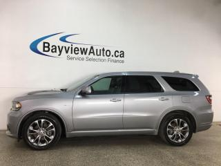Used 2020 Dodge Durango R/T - AWD! HTD LEATHER! NAV! SUNROOF! + MORE! for sale in Belleville, ON