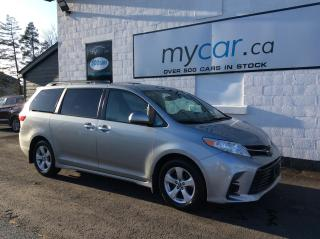 Used 2019 Toyota Sienna LE 8-Passenger HEATED SEATS, BACKUP CAM, ALLOYS, BLUETOOTH!! for sale in Richmond, ON