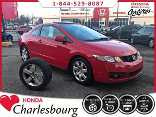 Used 2010 Honda Civic LX-SR **AUTOMATIQUE+ TOIT OUVRANT** for sale in Charlesbourg, QC