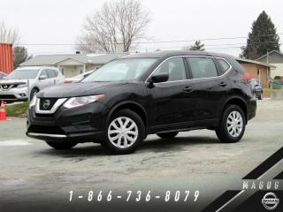 Used 2018 Nissan Rogue S AWD, BAS KILO, BLUETOOTH, A/C! for sale in Magog, QC