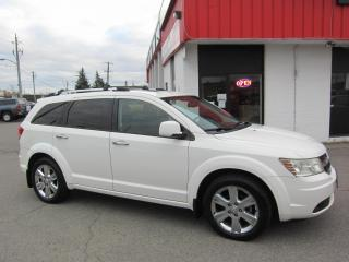 Used 2010 Dodge Journey R/T $7,995+HST+LIC FEE / NAVIGATION / LEATHER / 3RD ROW / CERTIFIED for sale in North York, ON