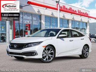 New 2021 Honda Civic Sedan Touring for sale in Sudbury, ON