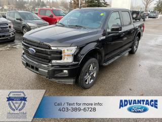 Used 2020 Ford F-150 Lariat LARIAT SERIES  B&O SOUND SYSTEM  VOICE-ACTIVATED NAVIGATION  2ND ROW HEATED SEATS HEATED STEERING WH for sale in Calgary, AB