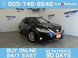 Used 2018 Nissan Altima 2.5 S | BLUETOOTH | REAR CAM | TINTED WINDOWS for sale in Brantford, ON