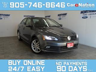 Used 2017 Volkswagen Jetta Sedan HIGHLINE | LEATHER | SUNROOF | NAV | TECH PACKAGE for sale in Brantford, ON