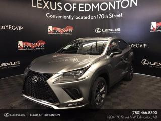 New 2021 Lexus NX 300 F Sport Series 3 for sale in Edmonton, AB