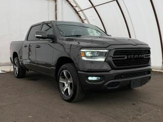 Used 2019 RAM 1500 Sport NAVIGATION, FACTORY REMOTE STARTER, FRONT AND REAR PARK SENSE, BLIND SPOT DETECTION for sale in Ottawa, ON