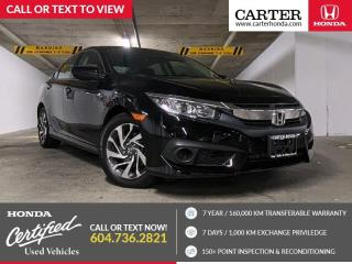 Used 2018 Honda Civic APPLE CARPLAY & ANDROID AUTO + HEATED FRONT SEATS + HONDA SENSING for sale in Vancouver, BC